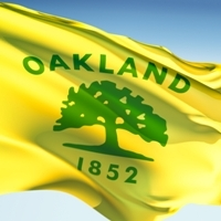 City of Oakland Flag